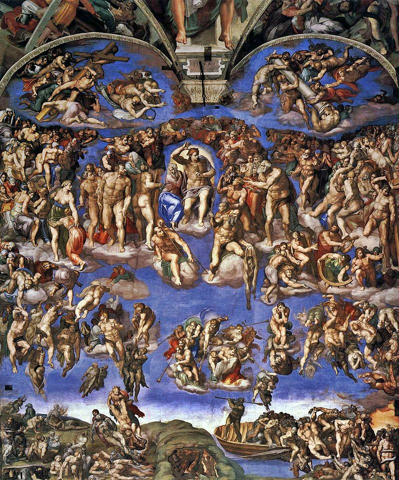 800px Michelangelo_Giudizio_Universale_02